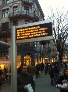 """""""Zürich steht still"""""""