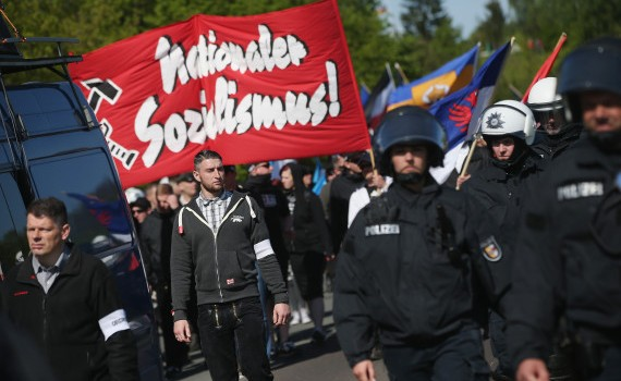 May Day In Germany: Rostock